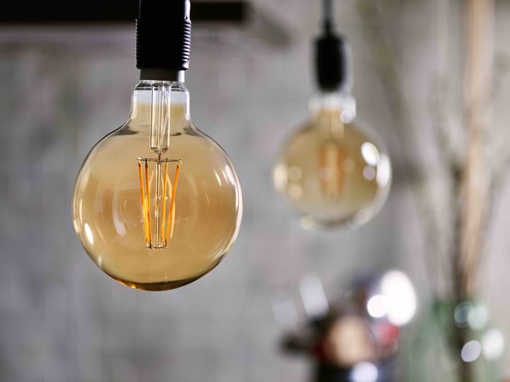 Signify has been outsourcing the production of all of its LED lamps such as these traditional filament styles. That will change with the Klite acquisition. (Photo credit: Image courtesy of Signify.)