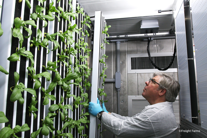 Freight Farms announces new horticultural funding from Ospraie Ag Science |  LEDs Magazine
